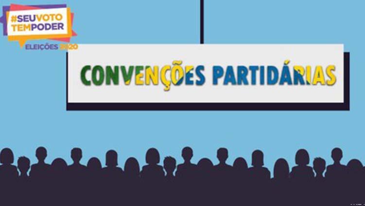 Sete partidos definem datas das convenções para indicar candidatos |  RealTime1